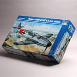 トランペッター 1/24 Messerschmitt Bf109 G-6 Late Version
